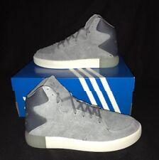 e28dc04e5d52 Adidas Originals Trainers Tubular Invader 2.0 Uk 6 Basketball Hi Top  Grey white