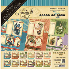 Deluxe Collector's Edition Place In Time Collection Scrapbooking Kit Graphic 45
