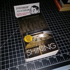 THE SHINING BY STEPHEN KING - HORROR BOOK, USED, IN GOOD OVERALL CONDITION