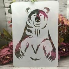 A4 Big Bear Hug Stamps DIY Layering Stencils Decor Painting Scrapbook for Wall