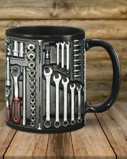 Mechanic Toolbox Set Mechanical Tools Mechan fixer Funny Mug