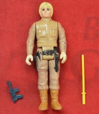 Vintage Kenner Star Wars Luke Bespin figure Complete w original Light Saber Gun