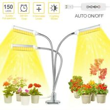 150W Led Full Spectrum Grow Lights Indoor Plants 100 Leds Growing Flower Timer