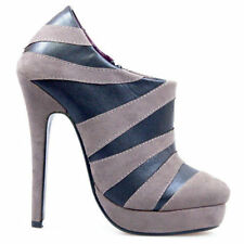 Zip High Heel (3 in. and Up) Width Striped Boots for Women