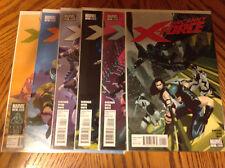 Uncanny X-Force #1-6 - 2010 Series - 1st Printings