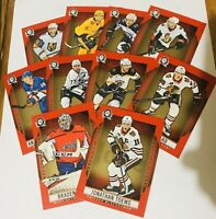 2018-19 O PEE CHEE COAST TO COAST RED PARALLEL BASE SUPERSTARS ROOKIES U PICK