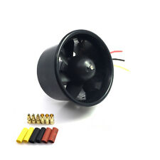 55mm Duct Fan 3500KV Brushless Motor for 500g RC Model Aircraft EDF Jet AirPlane