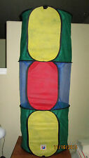 Peek-A-Babe Bright'N Fun Kids Baby Pets Crawl Tunnel Toy Play Tent Foldable