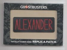 2016 Ghostbusters Totally Fabricated Replica Patch Trading Card #H8 Alexander