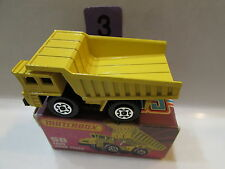MATCHBOX SUPERFAST FAUN DUMP TRUCK #58 LESNEY 1978