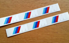 BMW M Sport Premium Brake Caliper Stickers Decals Logos High Temp All Models