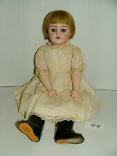 """#1900s German 24"""" Bisque Head Doll w Jointed Composition Body Lot#44"""