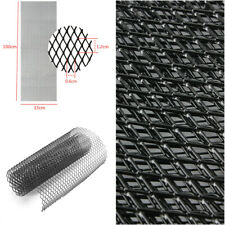 1pcs Front Intake Grille Aluminium Rhombus Mesh Car Tuning Grill 12mm* 6mm Black