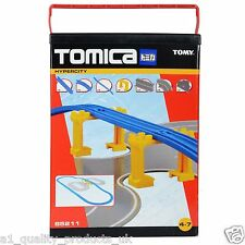Tomy Tomica 85211 Road & Rail Expansion Accessory Starter Set, BNIB, DAMAGED BOX