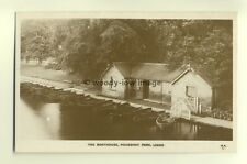 tp5642 - Yorks - The Boathouse & Boats in Roundhay Park, Leeds  - Postcard