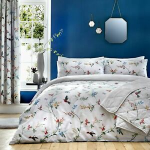 Dreams & Drapes Mansfield Reversible King Size Duvet Cover Bedding Set (981)