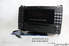 Vito W639 Radio Audio 20 CD MF2750 Viano Original Mercedes Autoradio MP3 AUX-IN