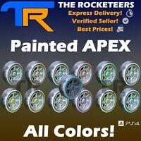 [PS4/PSN] Rocket League Every painted APEX Limited Wheels ( RLCS Reward Drop)