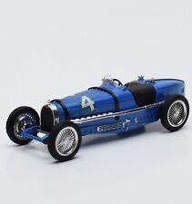 Brumm Bugatti TIPO 59 Rennwagen in blau lackiert, 1:43 , V010