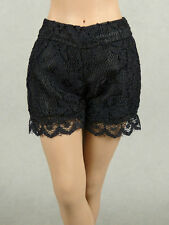 1/6 Phicen, Hot Toys, Play Toy, Kumik & NT - Sexy Female Black Lace Short Pants