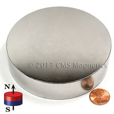 """Neodymium Super Strong NdFeB Rare Earth Disk Magnet N42 Dia 4x1""""   1 PC"""