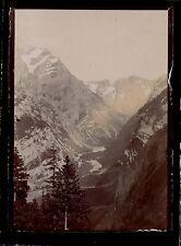Suisse 1898 - Vue de la Vallée de Gasteren - 113