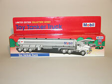 1993 MOBIL TOY TANKER TRUCK 1st IN A  COLLECTORS SERIES RED BOX CHINA MINT