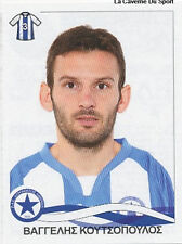 N°074 VANGELIS KOUTSOPOULOS ATROMITOS STICKER PANINI GREEK GREECE LEAGUE 2010