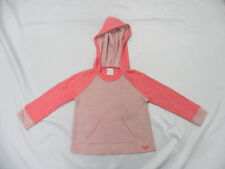Roxy Camp Out Pink Girl Teenie Wahine Hoodie Sweater Sz 5