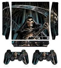 Skeleton 269 Skin Sticker Cover PS3 PlayStation 3 Slim and 2 controller skins