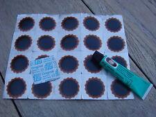 TipTop Rema Flicken 25mm 20 Stuck + 5 Gramm Gummilösung Vulkanisierflüssigkeit