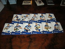 2014 NRL TRADERS CANTERBURY BULLDOGS COMMON TEAM SET 11 CARDS REYNOLDS