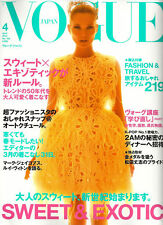 VOGUE JAPAN April 2012,KATE MOSS,Ellie Stuart Hunter,Carola Remer,Daga Zoiber