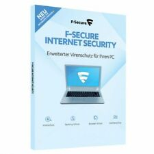 F-SECURE INTERNET SECURITY 2017 PC 3 - 1 anno, ESD download, tedesco