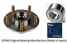 2004-2011 TOYOTA CAMRY Front Wheel Hub & (OEM) KOYO Bearing Kit (2.4L Engine)