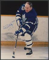 RED KELLY signed 8x10 photo (Toronto Maple Leafs - Autograph) HOF!