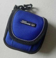 Nintendo GBA Game Boy Advance SP Blue Carrying Case With Clip