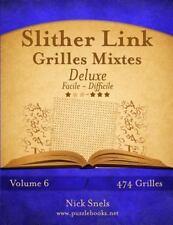 Slither Link: Slither Link Grilles Mixtes Deluxe - Facile à Difficile -...