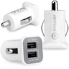T-Power T-Power ( TM ) Dual USB Ports 5v 3.1-amp 12-24V Car Charger