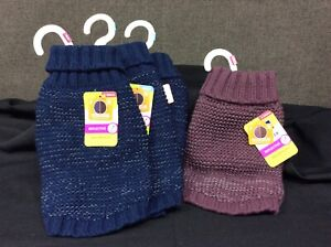 Top Paw Reflective Knit Sweater~ CHOOSE YOUR CHOICE OF COLOR / SIZE~ NEW w/Tags!