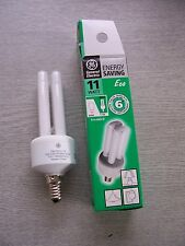 11W Energy Saving Bulb. E14 SES. Colour: 865 11W DBX. General Electric TWO PACK