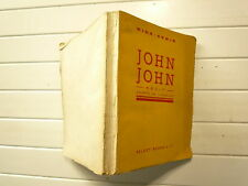 CURIOSA 1963 JOHN JOHN DE MINA ARMIN CHEZ SELECT BOOKS  ADAPTE DE L'ANGLAIS