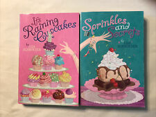 Lisa Schroeder Sprinkles and Secrets It's Raining Cupcakes 2 Books