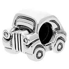 Authentic Pandora Charm Sterling Silver 790405CZ Car Charm