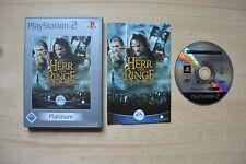 PS2 - Der Herr der Ringe: Die zwei Türme - (OVP, mit Anleitung)