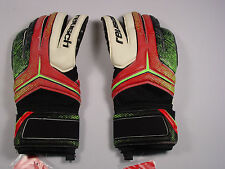 New Reusch Soccer Goalie Gloves RE:CEPTOR Prime G2 3570908S SZ 9 RED&BLACK