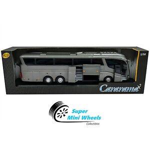 Cararama 1:50 Scania Irizar Pb Coach Bus (Gray) 57702 G
