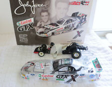 JOHN FORCE ELVIS 25th 2002 MUSTANG FUNNY CAR SIGNED Action Collectable 1:24