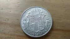 1927 HALF CROWN GEORGE V BRITISH SILVER COIN HIGH GRADE
