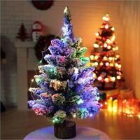 Mini Sapin de Noël 50cm LED Sapin de Noël Dessus de la Table Noël Décoration